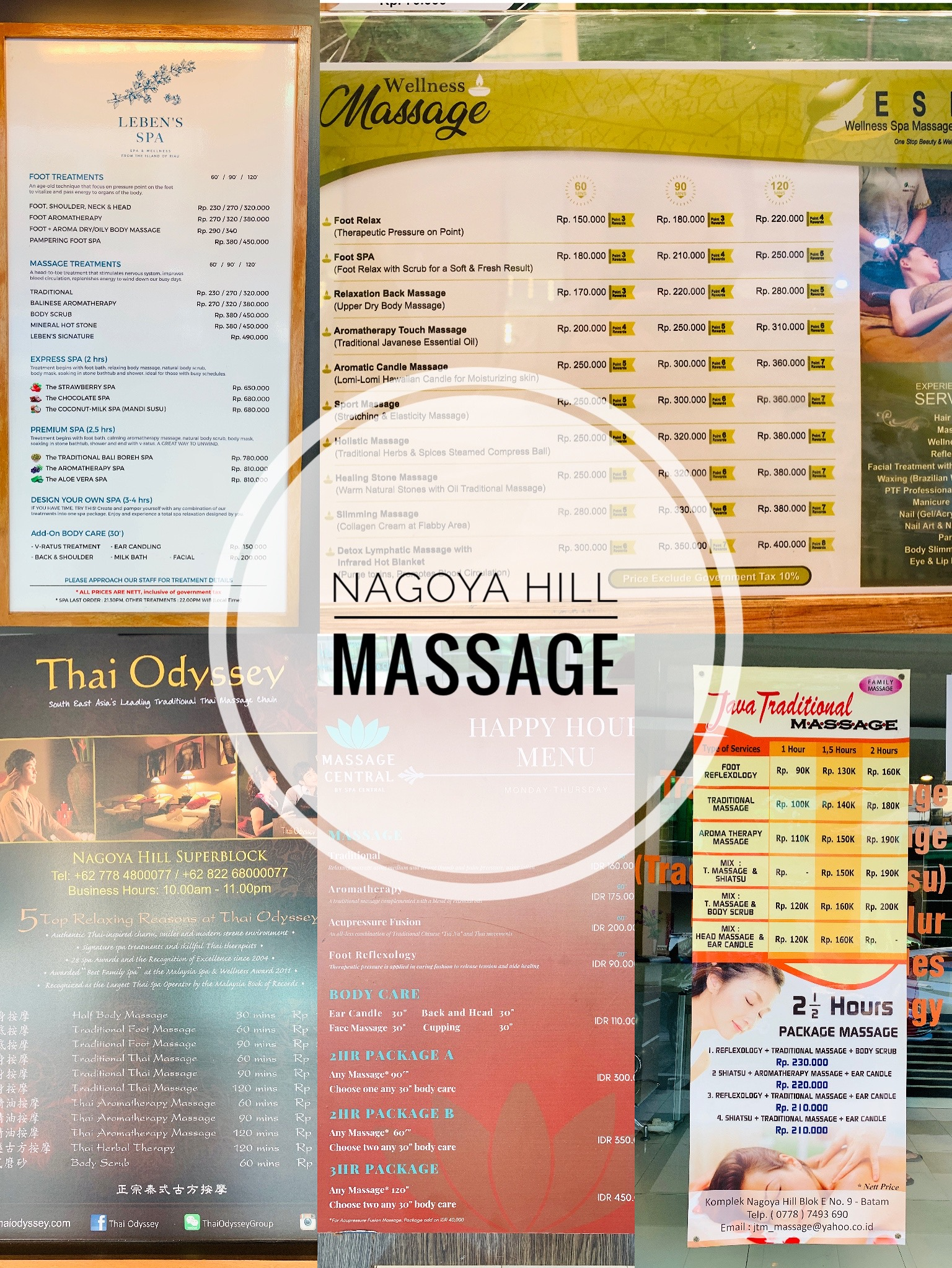 Nagoya Hill Massage Nagoya Hill 按摩 6